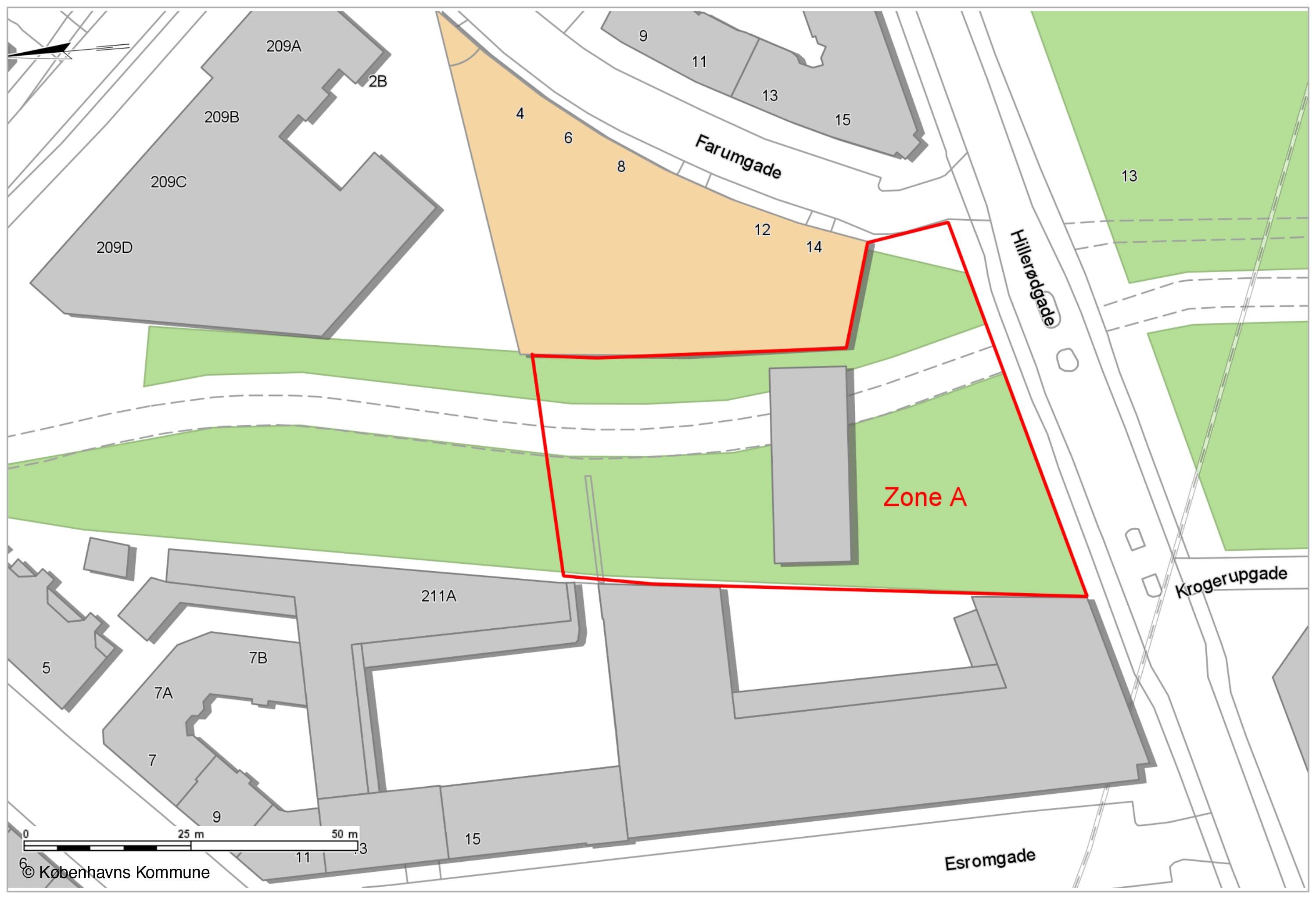 Opholdsforbud Nørrebro Skatepark zone A