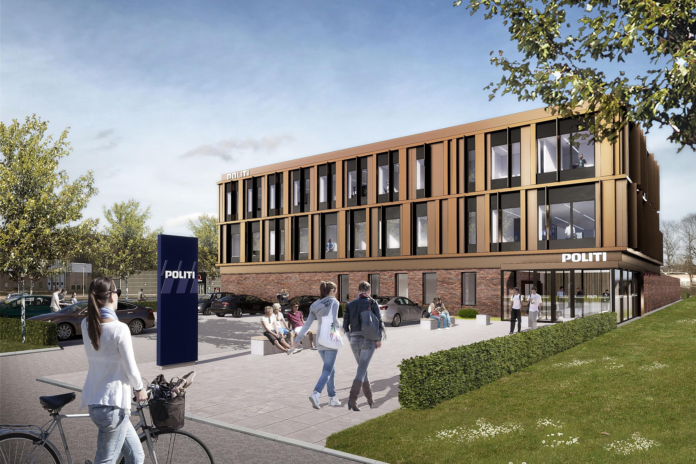 Lokalpolitiet i Silkeborg flytter i nye bygninger i 2022 | Nyheder | Midt-  og Vestjyllands Politi
