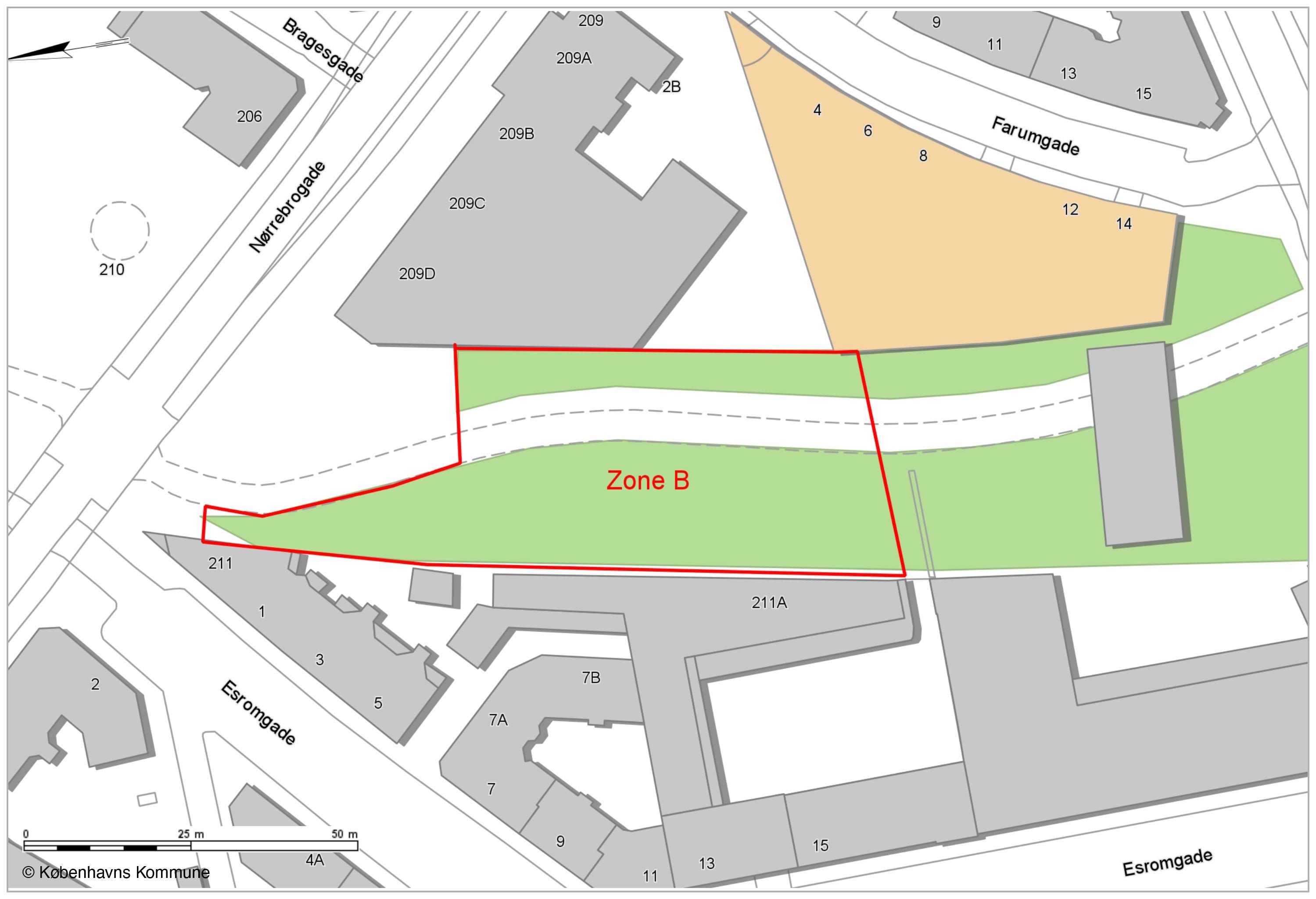 Opholdsforbud Nørrebro Skatepark zone B