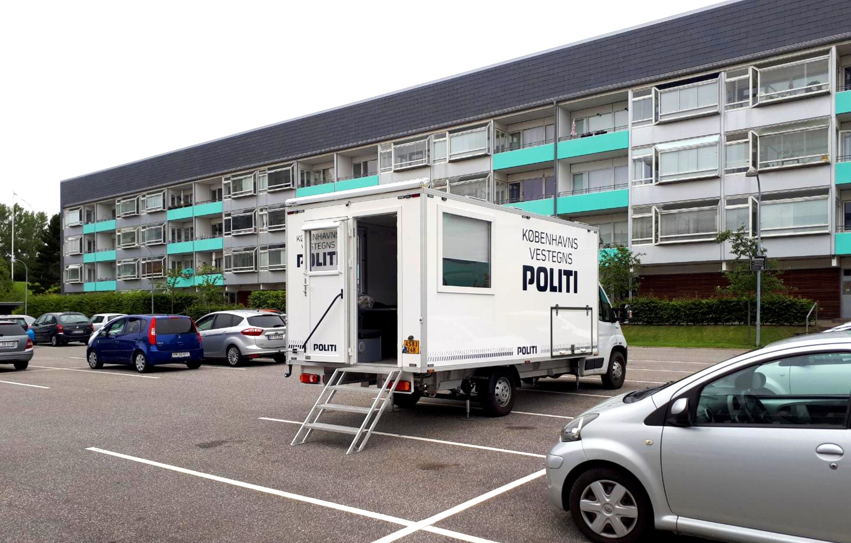 Mobil politistation - Brøndby Nord Vej