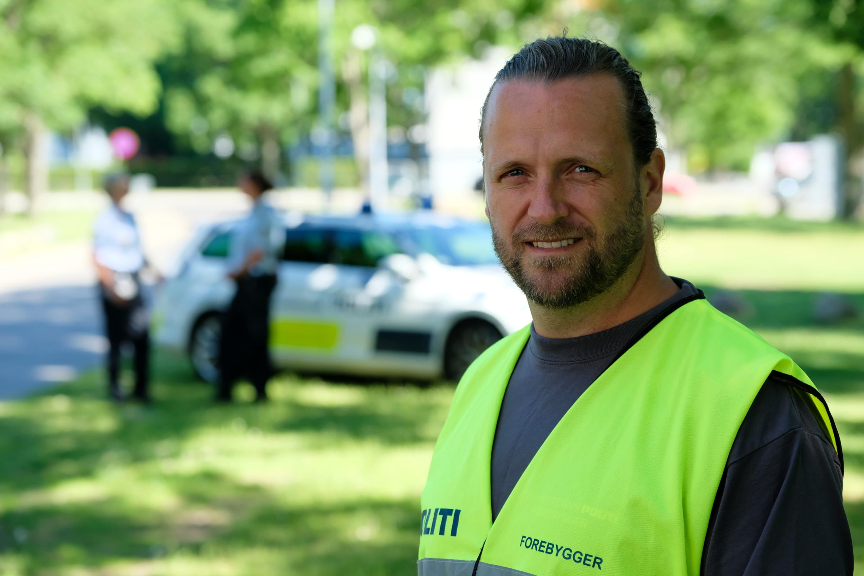 Mads Clausen - civil forebygger hos Københavns Vestegns Politi