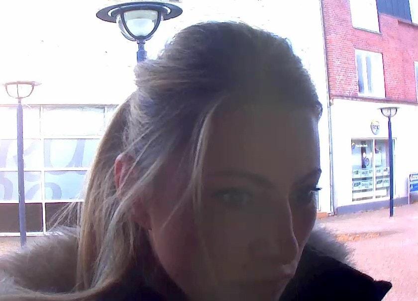 Overvågningsfoto - mistænkt B