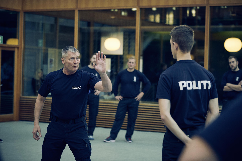 Træning og øvelser på Politiskolen