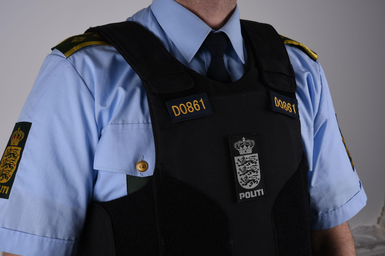 Markeringsnummer på uniformsvest