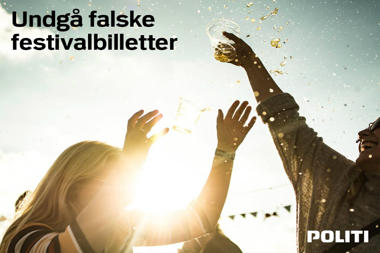 Undgå falske festivalbilletter