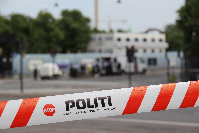 Minestrimmel med politi