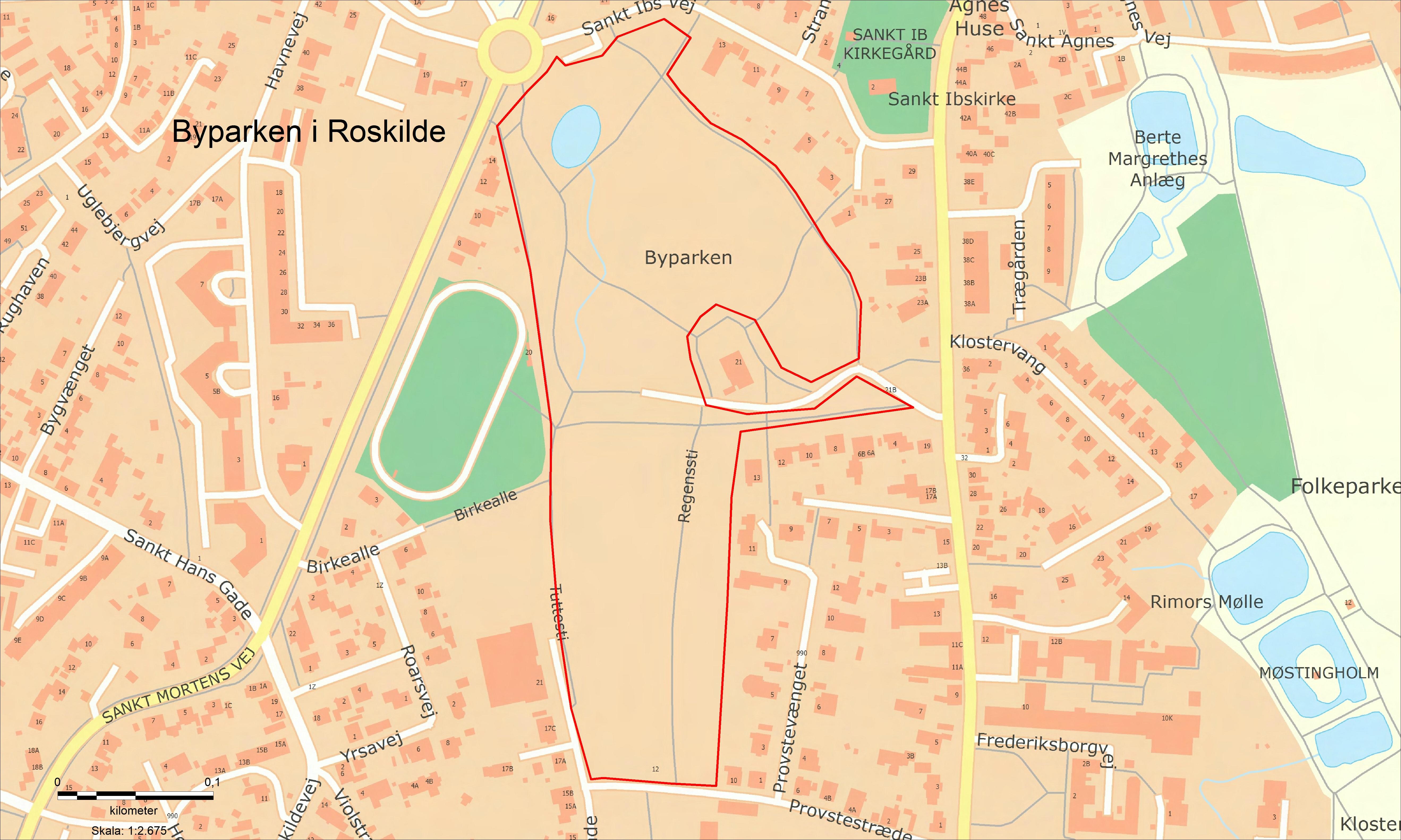 Opholdsforbud Byparken i Roskilde