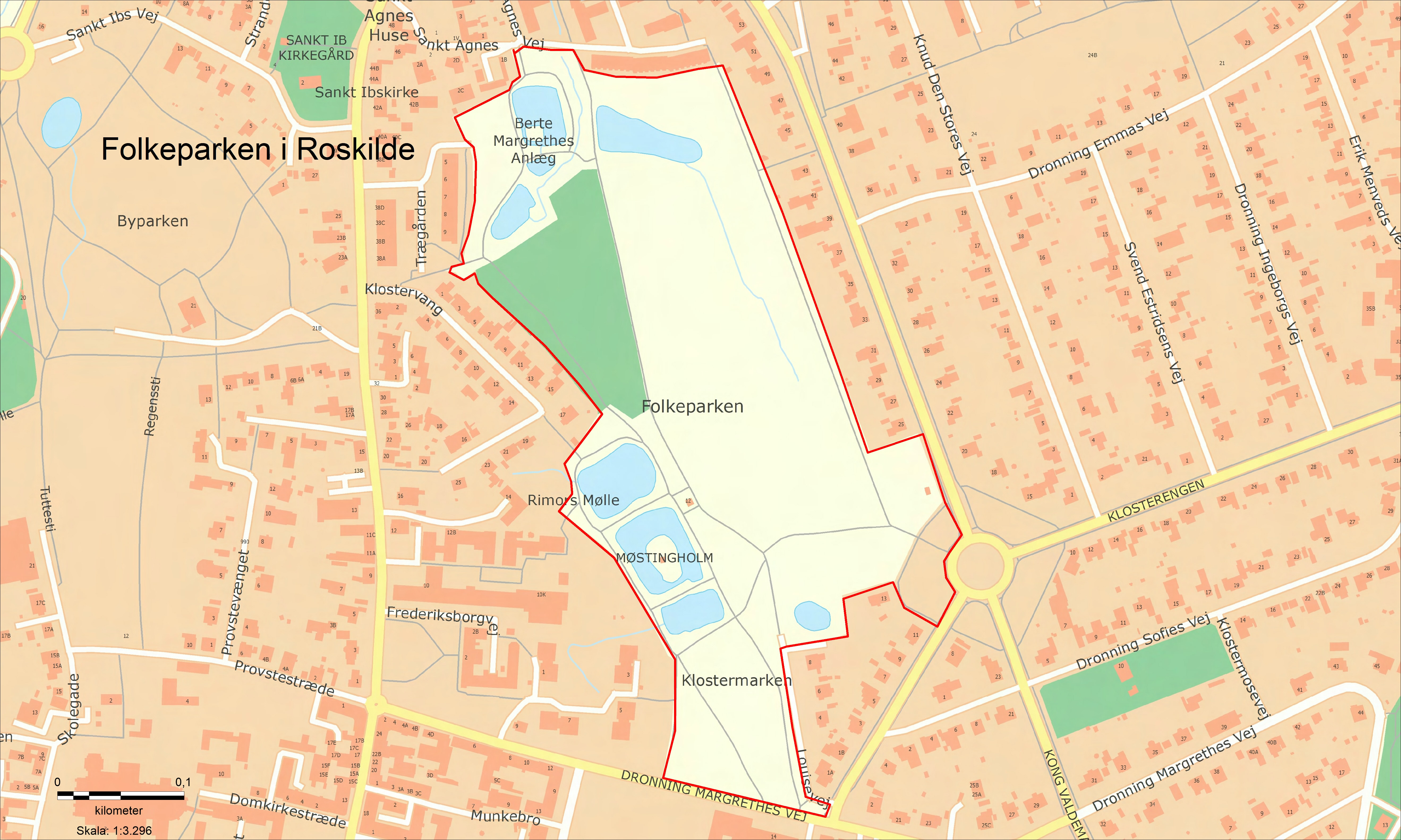 Opholdsforbud Folkeparken Roskilde