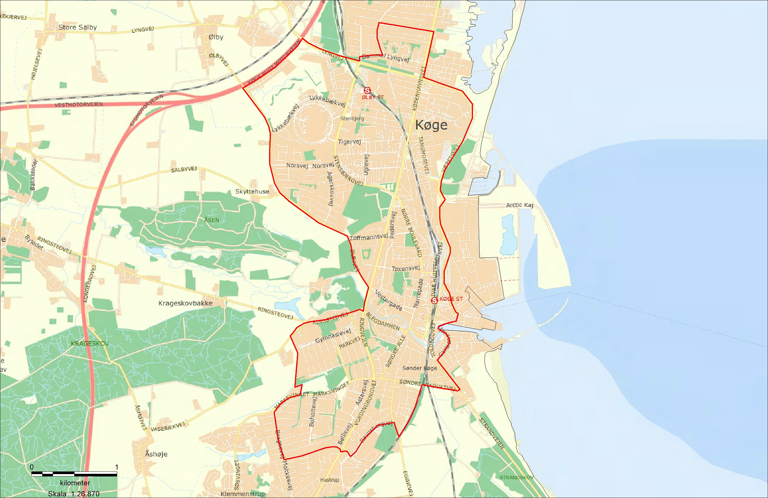 Visitationszone Køge