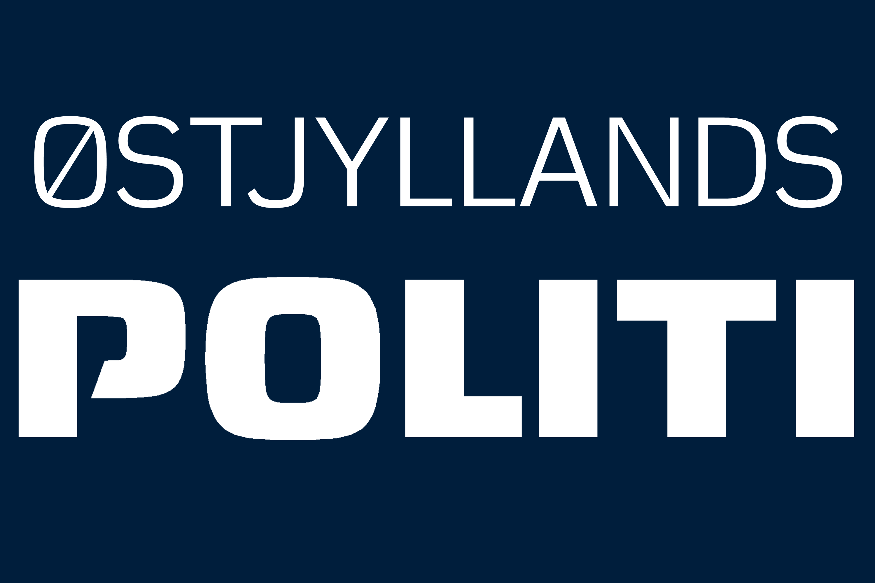 Kredslogo for Østjyllands Politi