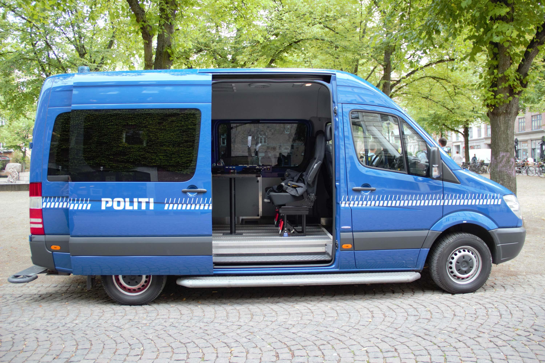 De mobile politistationer