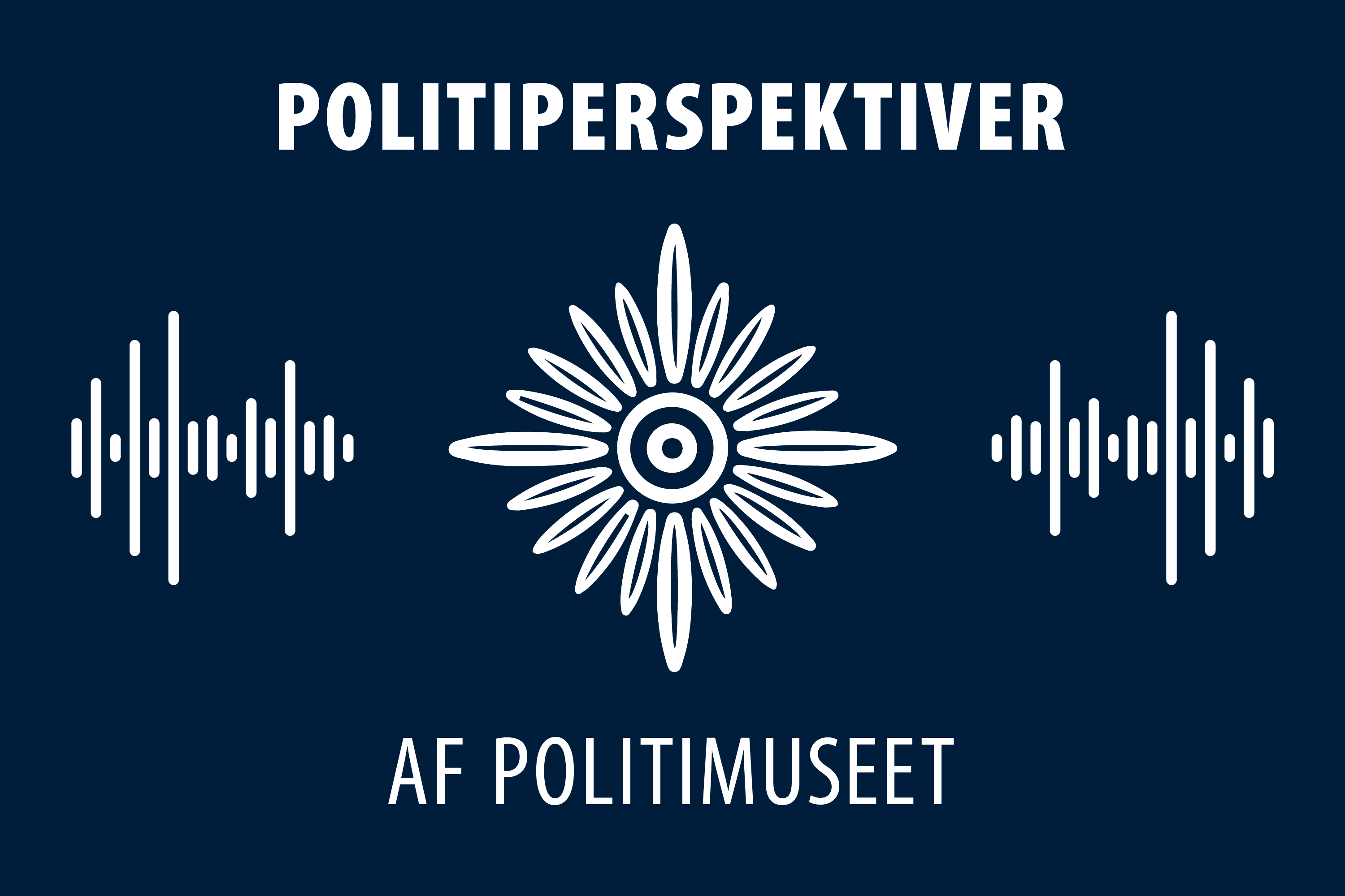 Logo for Politimuseets Podcast
