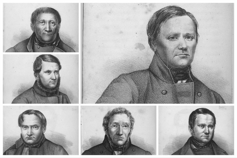 Handskemagerbanden, tegninger efter de første forbryderfotografier i Danmark