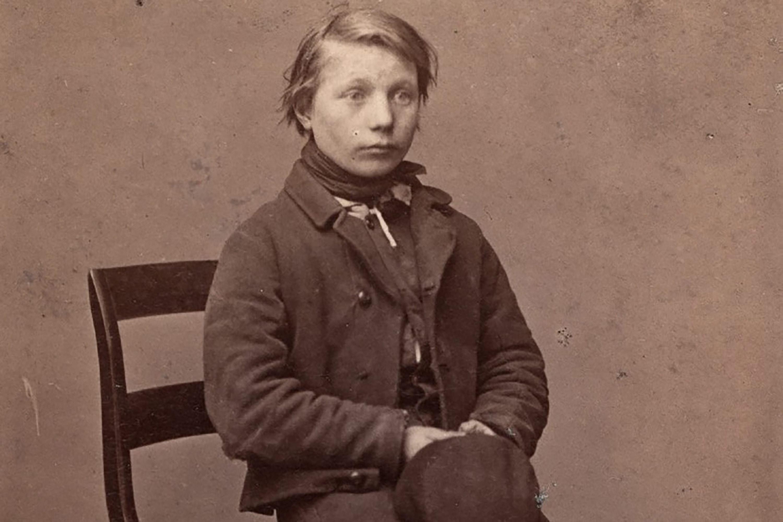 Forbryderbillede af tolvårig skoledreng fra Odense, Odense Bys Museer