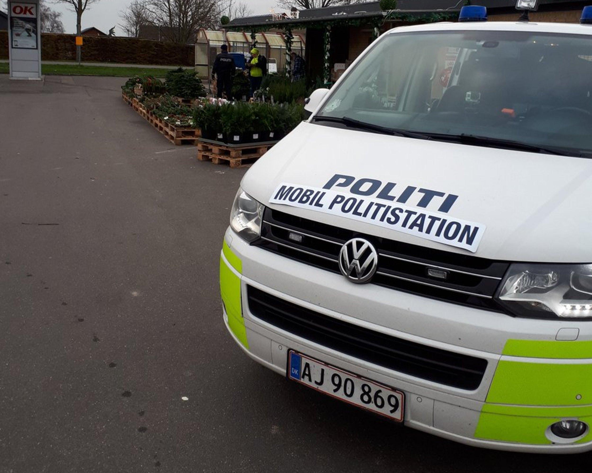 Mobil politistationen i Horslunde