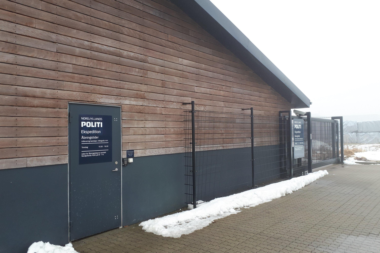 Hittegodslager, Svendborgvej, Nordjyllands Politi